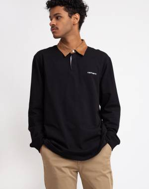 T-Shirt Carhartt WIP L/S Cord Rugby Polo