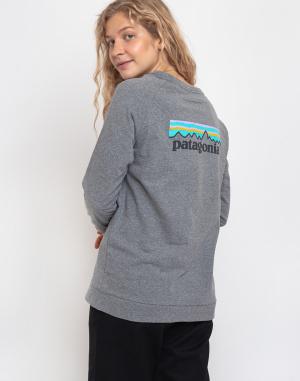 T-Shirt Patagonia L/S Pastel P-6 Logo Responsibili-Tee