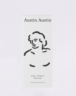 Kosmetik Austin Austin Neroli & Petitgrain Body Soap