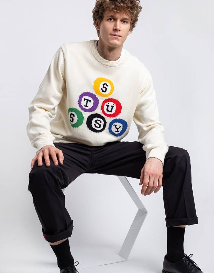 Pullover Stüssy Stüssy Billiard Sweater